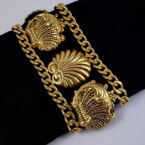 Vintage Juicy Couture Statement Bracelet Shells